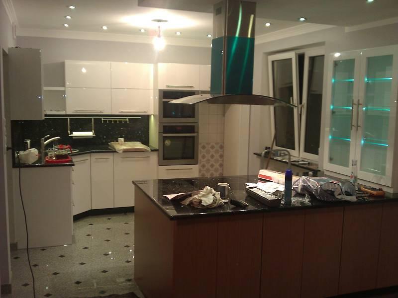 466 kuchnia Tarnowskie Góry (2)  Kuchnie, meble kuchenne  Czechowice, Biels   -> Kuchnie Pod Zabudowe Tarnowskie Góry