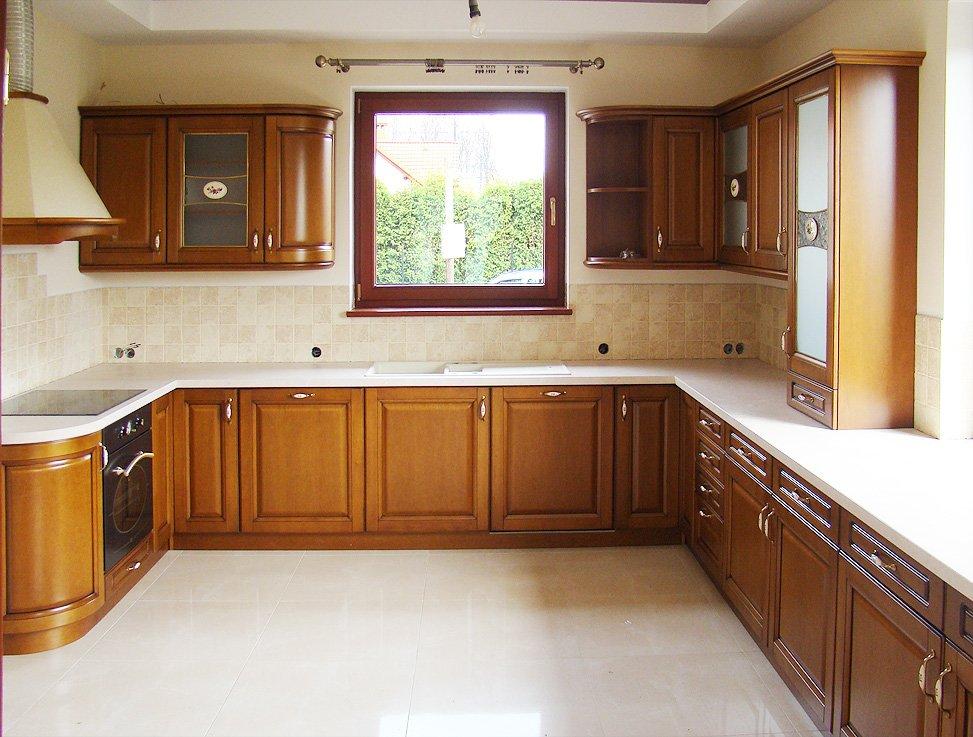 Kuchnie klasyczne  Kuchnie, meble kuchenne  Czechowice   -> Kuchnie Drewniane Tychy