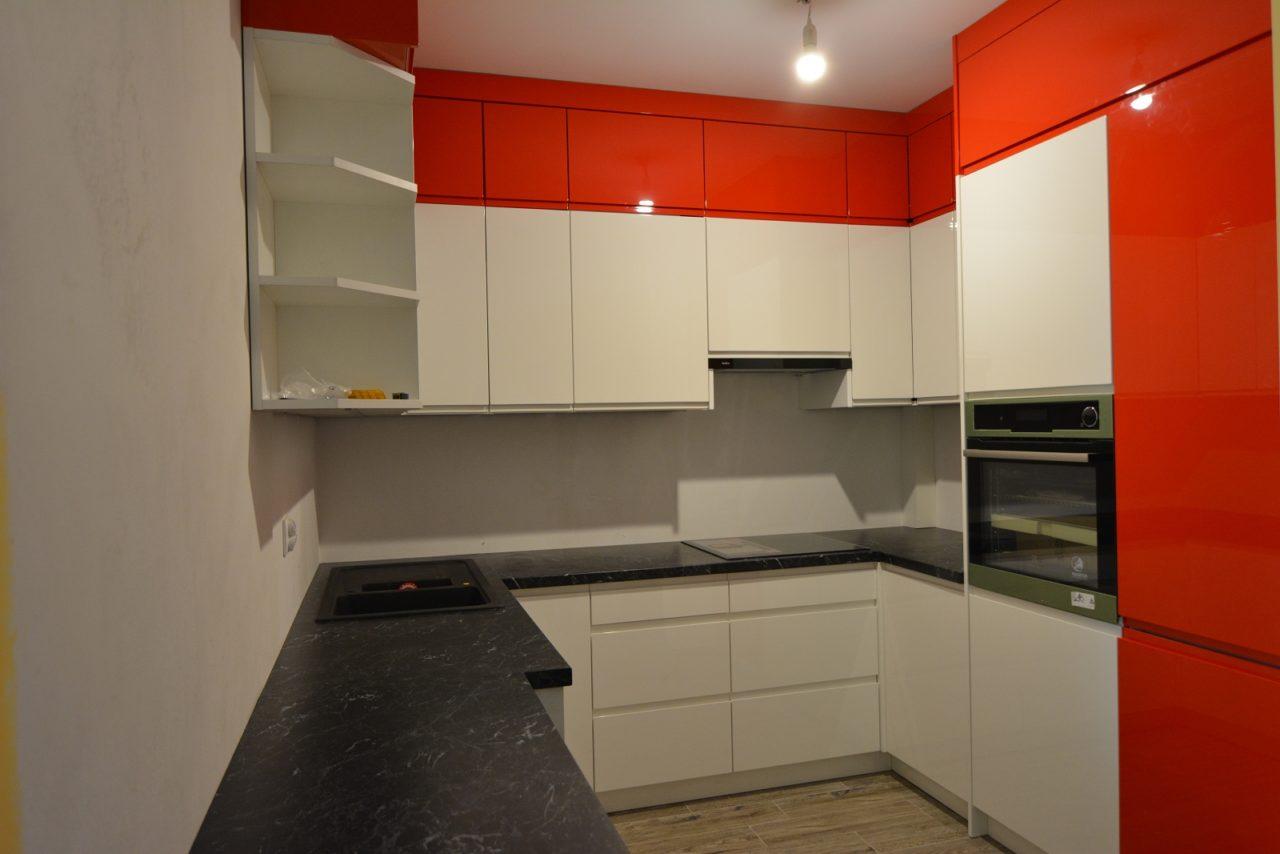 kuchnia biało czerwona Czechowice (1)  Kuchnie, meble   -> Kuchnia Otwarta Katowice Menu