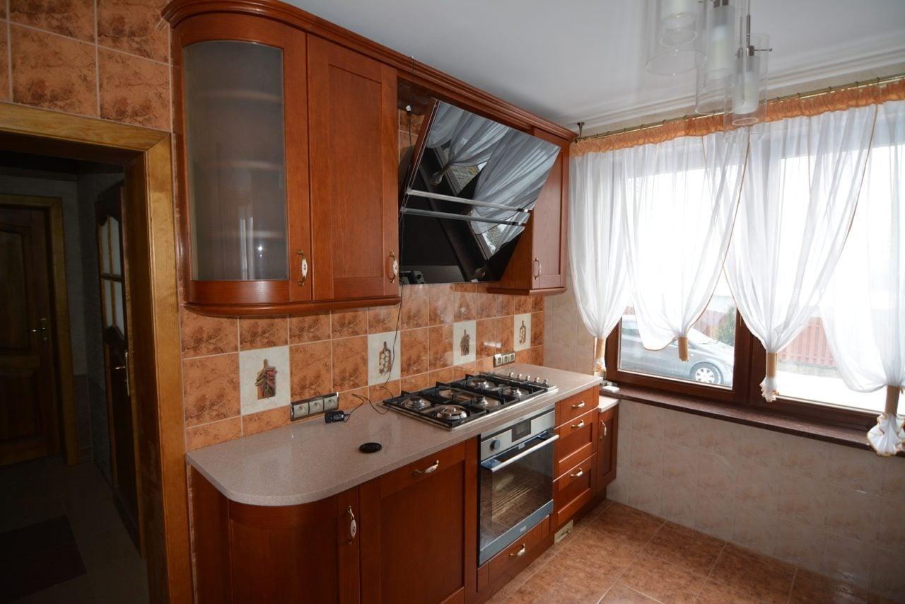 kuchnia drewniana dębowa Gliwice (3)  Kuchnie, meble kuchenne  Czechowice,