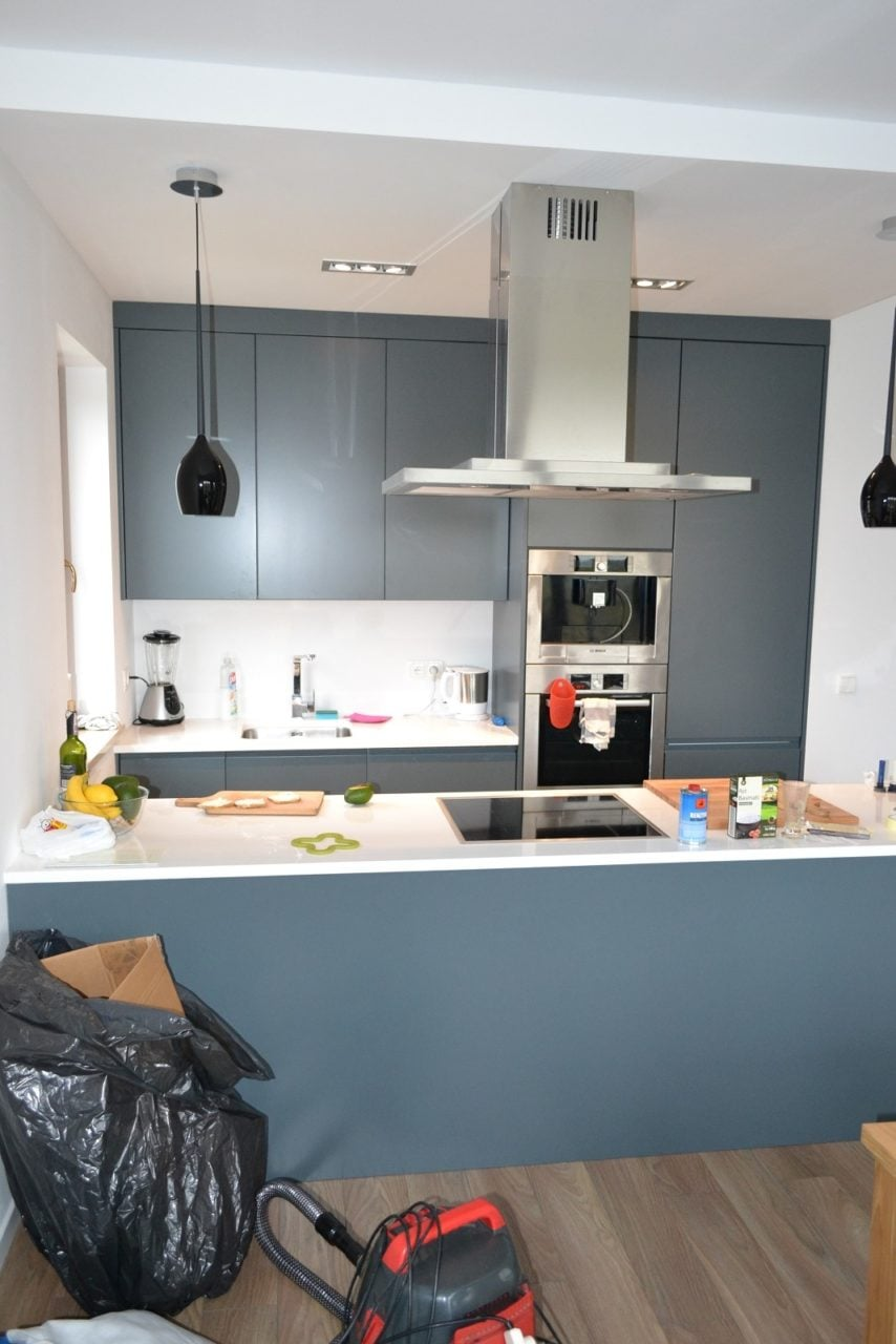 kuchnia nowoczesna lakierowana katowice (3)  Kuchnie, meble kuchenne  Czec   -> Kuchnia Otwarta Katowice Opinie