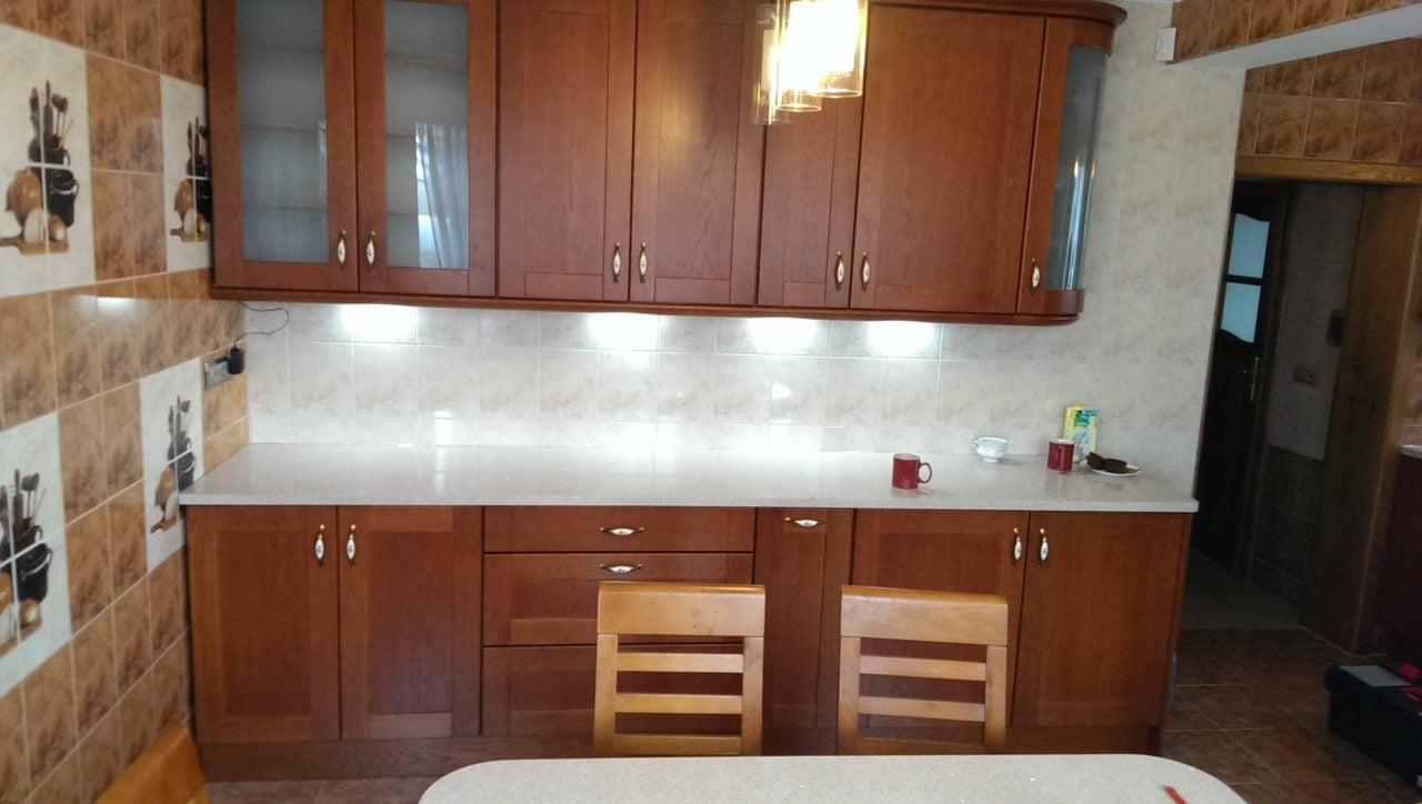 kuchnia stylowa drewniana dębowa (1)  Kuchnie, meble   -> Kuchnie Drewniane Tychy