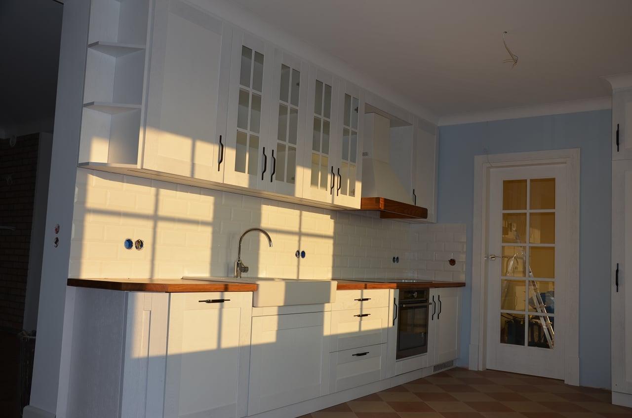 kuchnie drewniane na na wymiar (2)  Kuchnie, meble   -> Kuchnie Drewniane Tychy