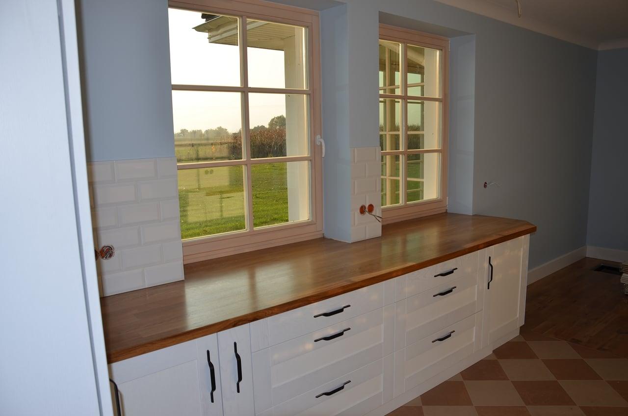 kuchnie drewniane na na wymiar (4)  Kuchnie, meble   -> Kuchnie Drewniane Tychy