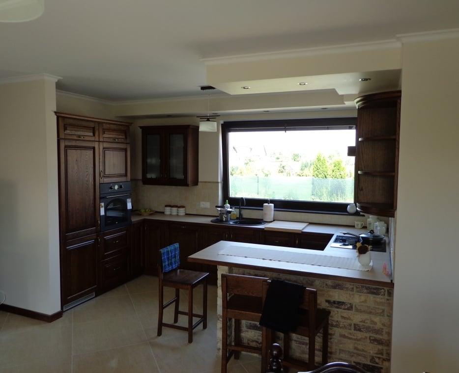 kuchnie klasyczne drewniane (5)  Kuchnie, meble kuchenne   -> Kuchnie Drewniane Tychy