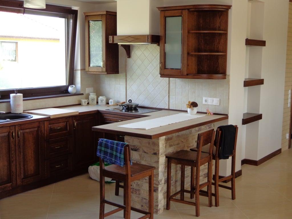 kuchnie klasyczne drewniane (6)  Kuchnie, meble kuchenne   -> Kuchnie Drewniane Tychy