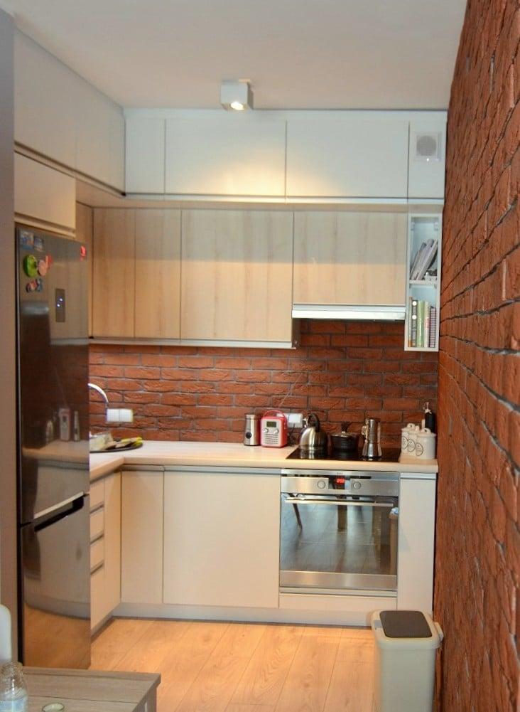 mała kuchnia Katowice (1)  Kuchnie, meble kuchenne   -> Kuchnia Mala Wąska