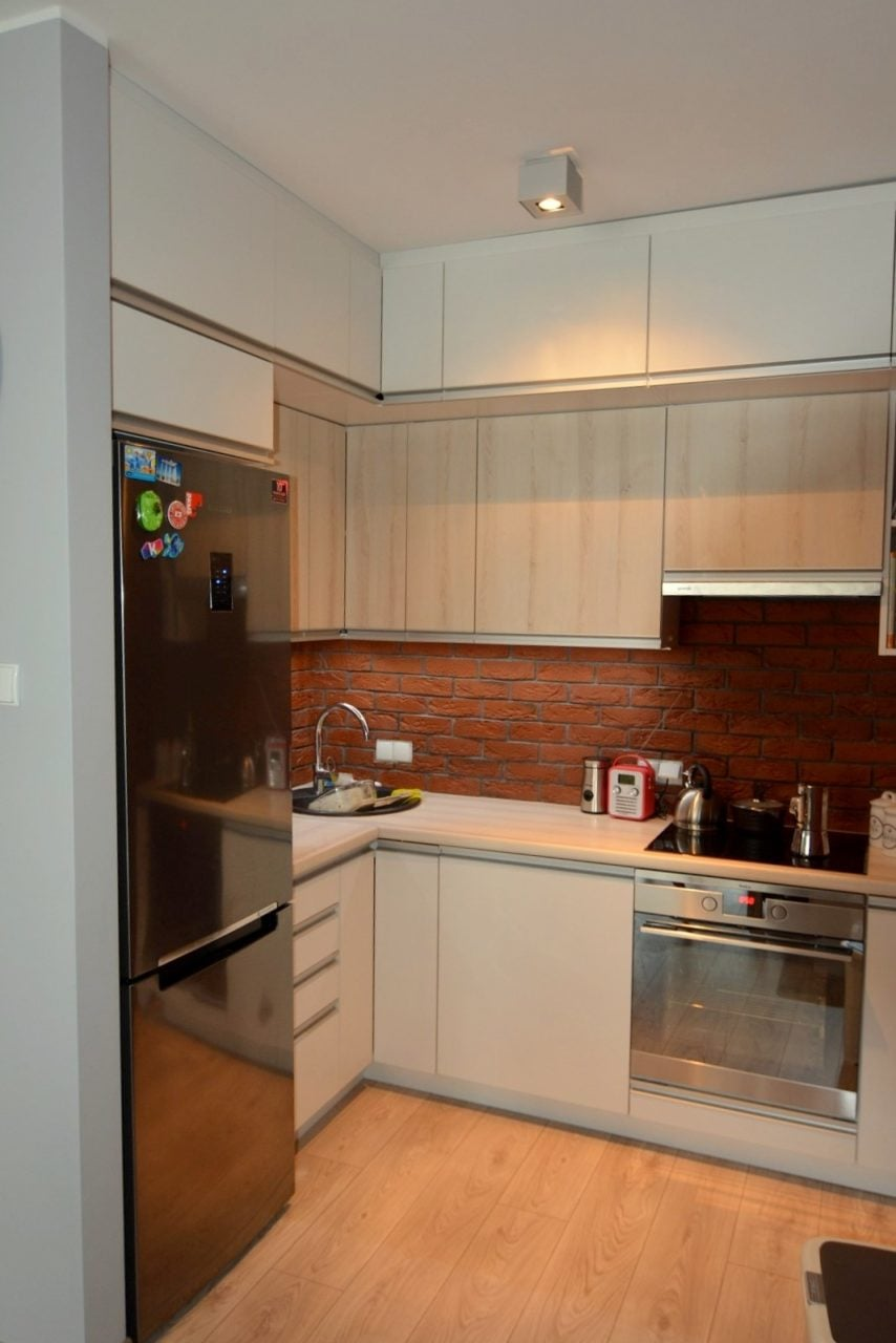 mała kuchnia Katowice (2)  Kuchnie, meble kuchenne  Czechowice, Bielsko Bia   -> Kuchnia Otwarta Katowice Opinie