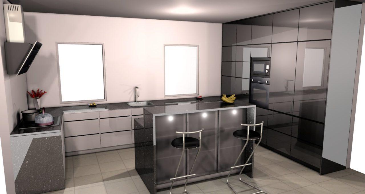 projekt kuchnie Tychy (1)  Kuchnie, meble kuchenne  Czechowice, Bielsko Bia   -> Kuchnie Meble Tychy