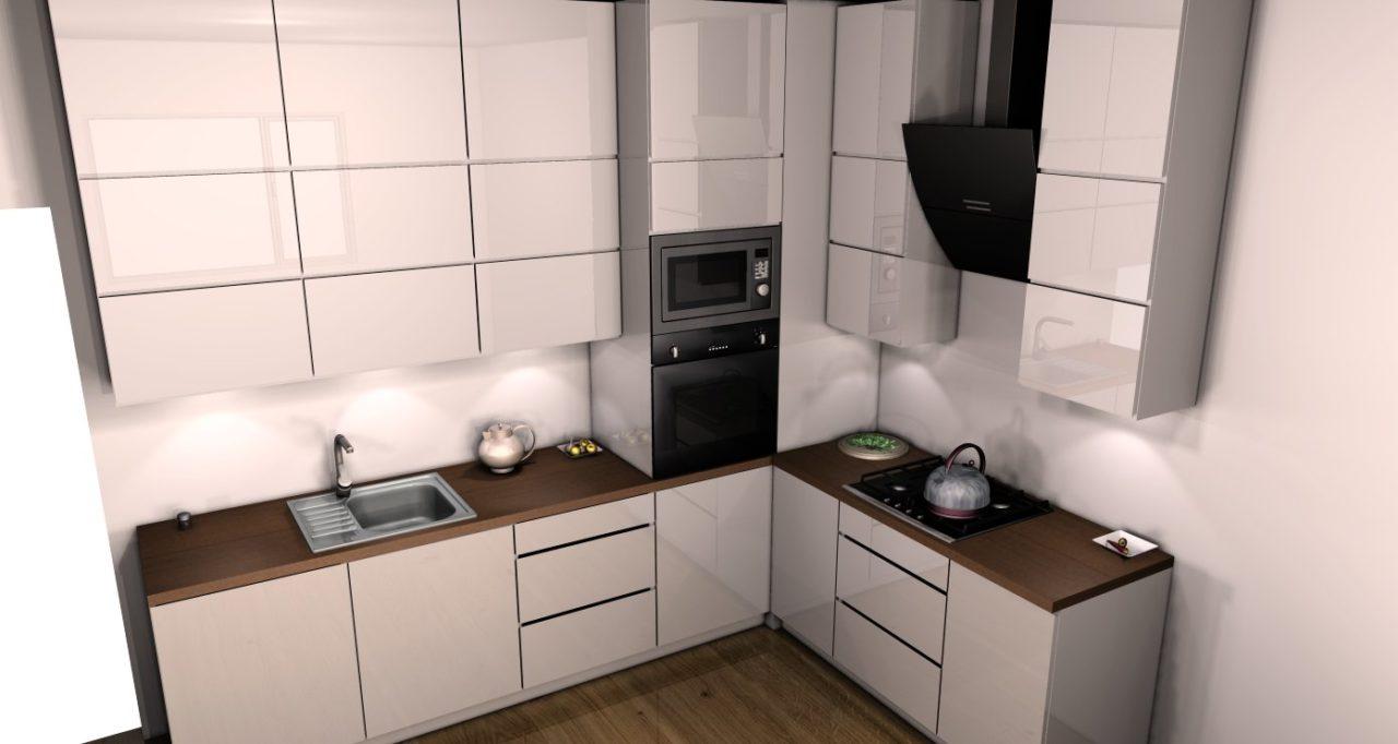 projektowanie kuchni (17) - Kuchnie, meble kuchenne - Czechowice, Bielsko-Biała, Pszczyna, Tychy ...